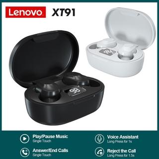 [Mã ELFLASH5 giảm 20K đơn 50K] Tai Nghe Thể Thao Không Dây Bluetooth Chống Nước Âm Thanh Sống Động Cho Lenovo Xt91 Tws