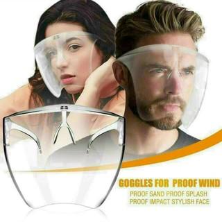 Mắt kính bảo hộ chống bụi che hết khuôn mặt bảo vệ mắt toàn diện tròng trong suốt thumbnail
