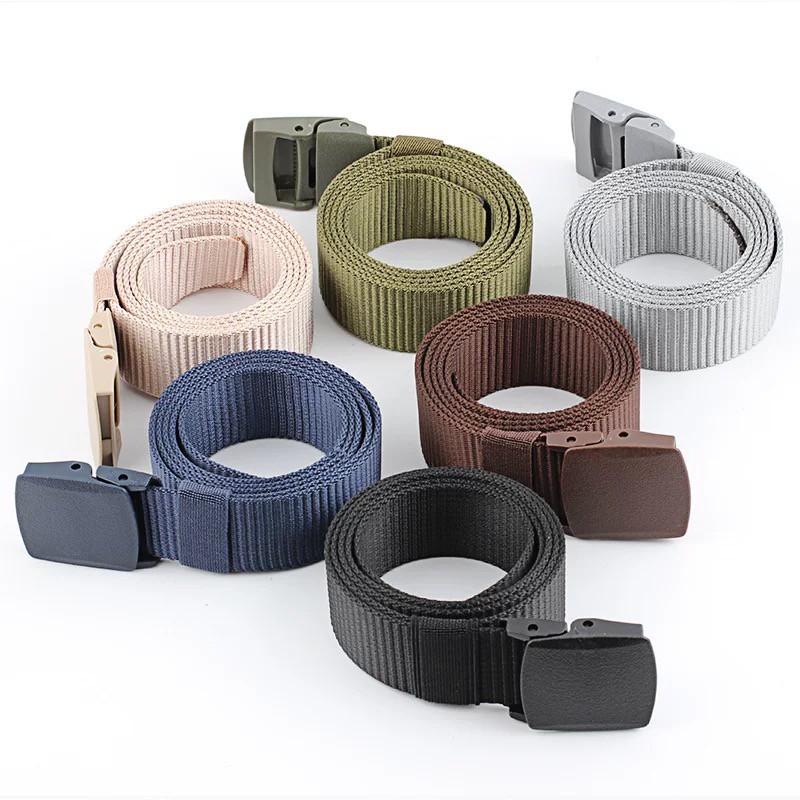 [CỰC BỀN] Thắt lưng học sinh vải Nylon khóa nhựa (7 màu) dễ sử dụng
