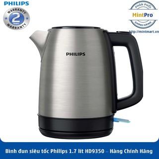 Bình đun siêu tốc Philips 1.7 lít HD9350 – Hàng Chính Hãng – Bảo Hành 2 Năm Toàn Quốc