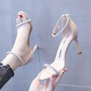 Sandal đính cườm (7cm)