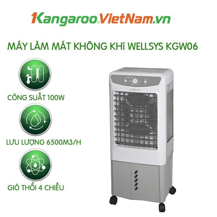 Quạt điều hòa hơi nước Kangaroo KGW06 💥 FREESHIP💥  Quạt hơi nước quốc dân cho mọi nhà - Diện tích làm mát  20-25m2