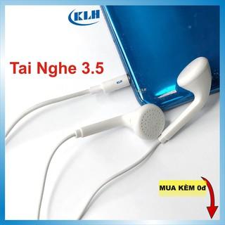 Tai nghe chân tròn Oppo classic có Mic đàm thoại, Jack tròn 3.5mm tương thích máy MP3, samsung, iphone, ipad, vivo