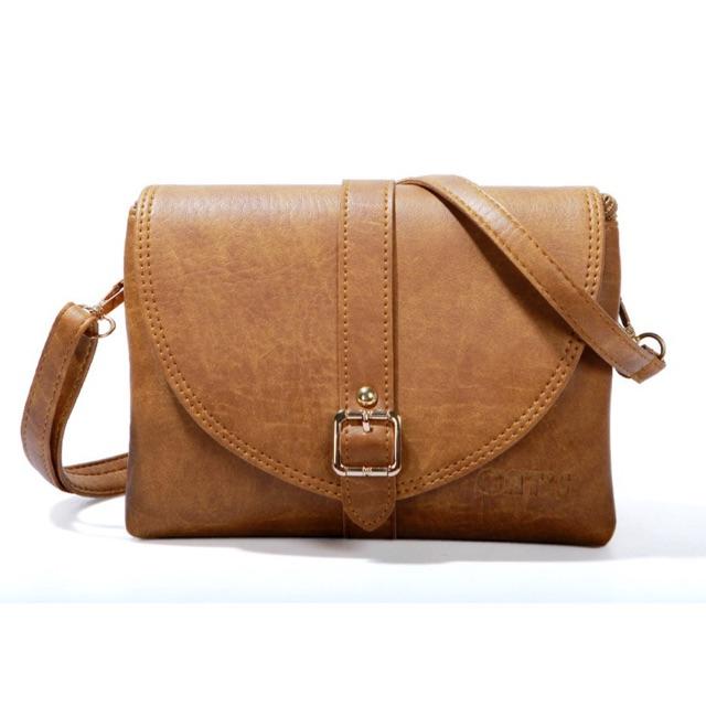 Túi đeo chéo nữ CNT TĐX26 nhiều màu cá tính
