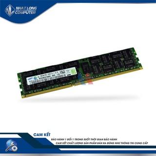 [Mã 267ELSALE hoàn 7% đơn 300K] Ram REG ECC 16Gb buss 1600 Samsung tháo máy.