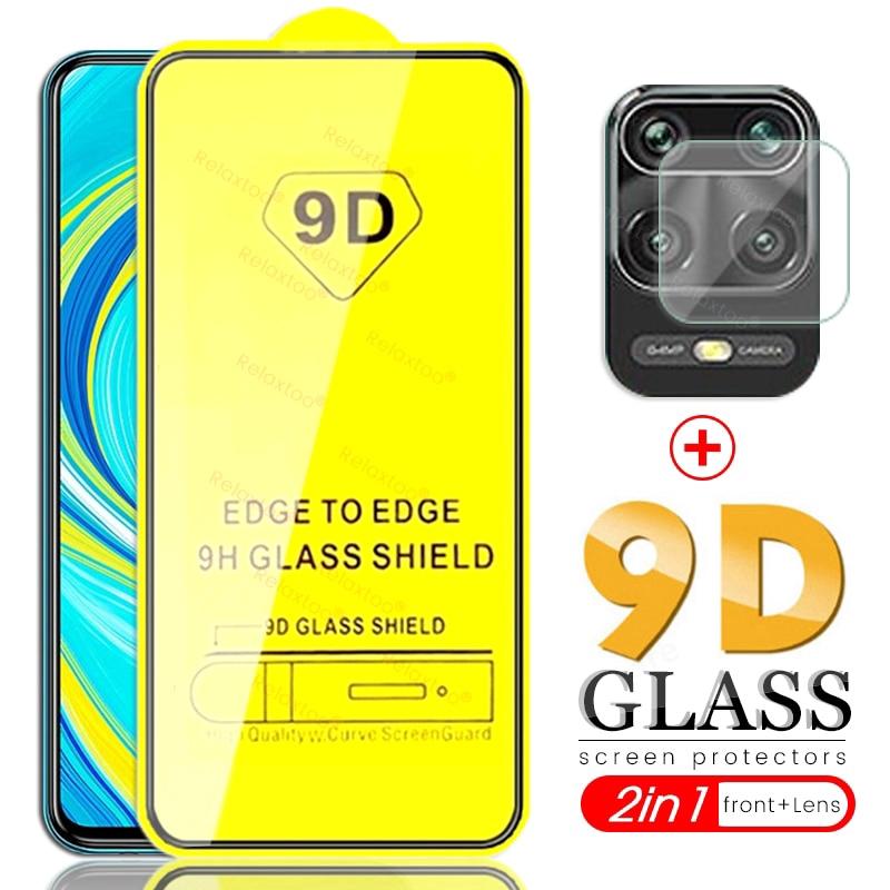 [Mã ELAUG10K giảm 10K đơn 0₫] Kính Cường Lực 9h 2 Trong 1 Bảo Vệ Camera Cho Xiaomi Redmi Note 9s 9 pro max mi 9se