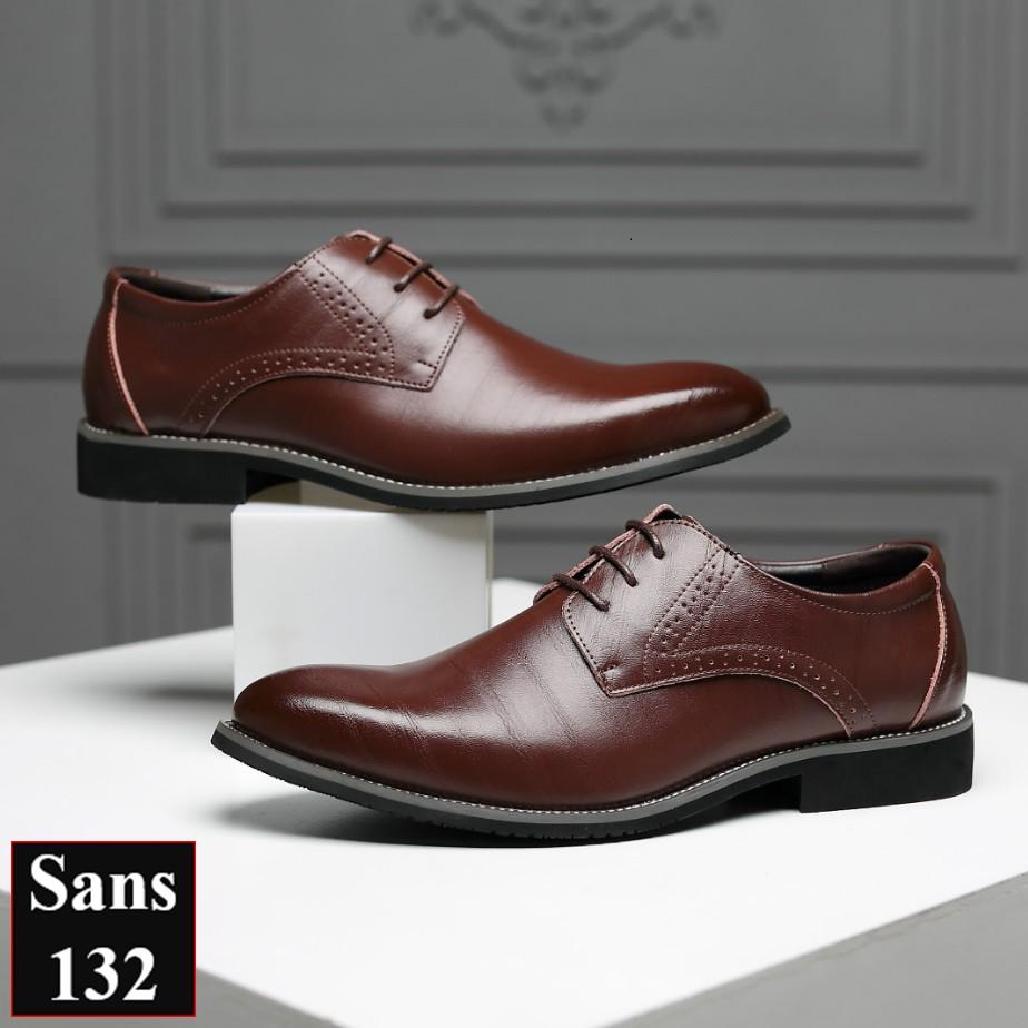 Giày big size nam giày tây nam size lớn Sans Shop Sans132