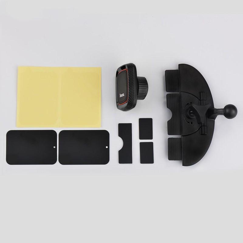 Giá đỡ điện thoại HOCO CA25 trên xe hơi ô tô hút nam châm Dành cho điện thoại iPhone iP Huawei Samsung Oppo
