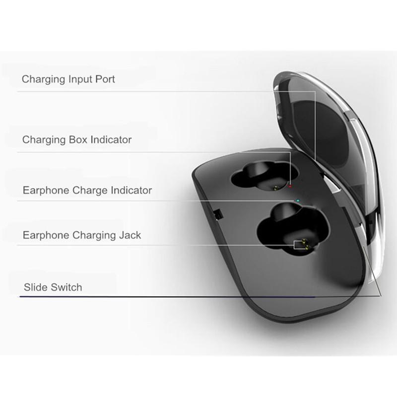 Tai nghe Bluetooth không dây kèm mic tiện lợi X18 TWS