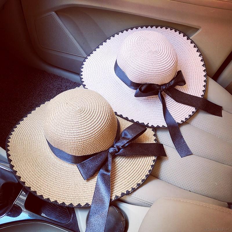 Mũ rộng vành che nắng thời trang mùa hè cho phái nữ