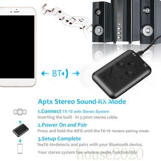 Bộ Thu Phát Tín Hiệu Âm Thanh Bluetooth 4.2 Không Dây 2 Trong 1 Giao Diện 3.5mm