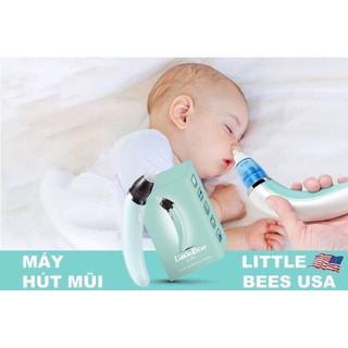 [BH 12 tháng] Máy hút mũi điện đầu silicon siêu mềm cho bé - Tặng bông và đầu silicon thay thế thumbnail
