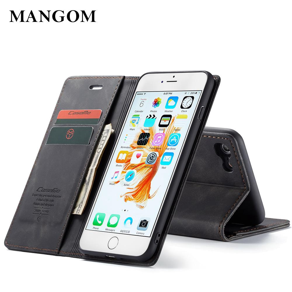 For Apple iPhon6 Plus  Magnetic Closure  5.5