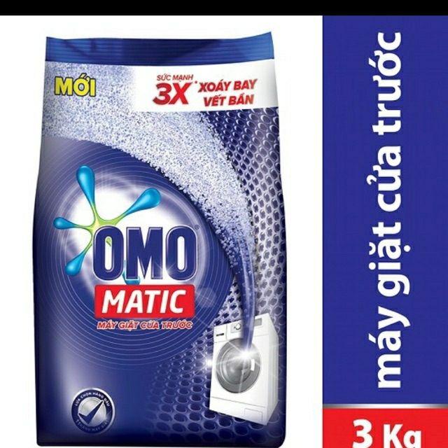 Bột giặt Omo Matic cửa trước 3Kg