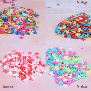MT 10g/pack Polymer clay fake candy sweets sprinkles diy slime phone supplies NY