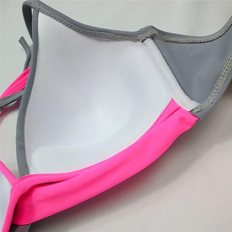 Bộ Đồ Bơi Hai Mảnh Có Độn Nâng Ngực Gợi Cảm Cho Nữ 2020