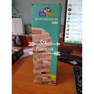 Bộ đồ chơi rút gỗ 48 miếng (1kg) Giá tốt