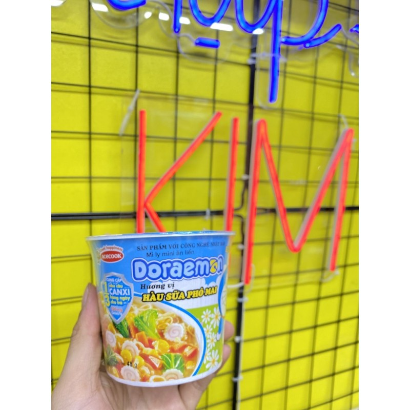 [Mã GRO1505 giảm 8% đơn 250K] Mì ly ăn liền Doraemon 48g