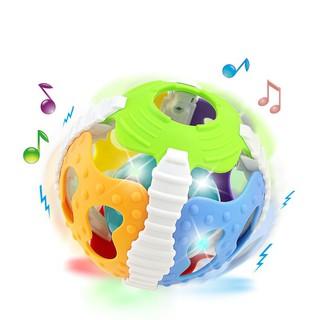 Đồ chơi trống rung cầm tay phát nhạc cho bé