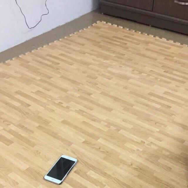Xốp vân gỗ tường lâm 60 x 60