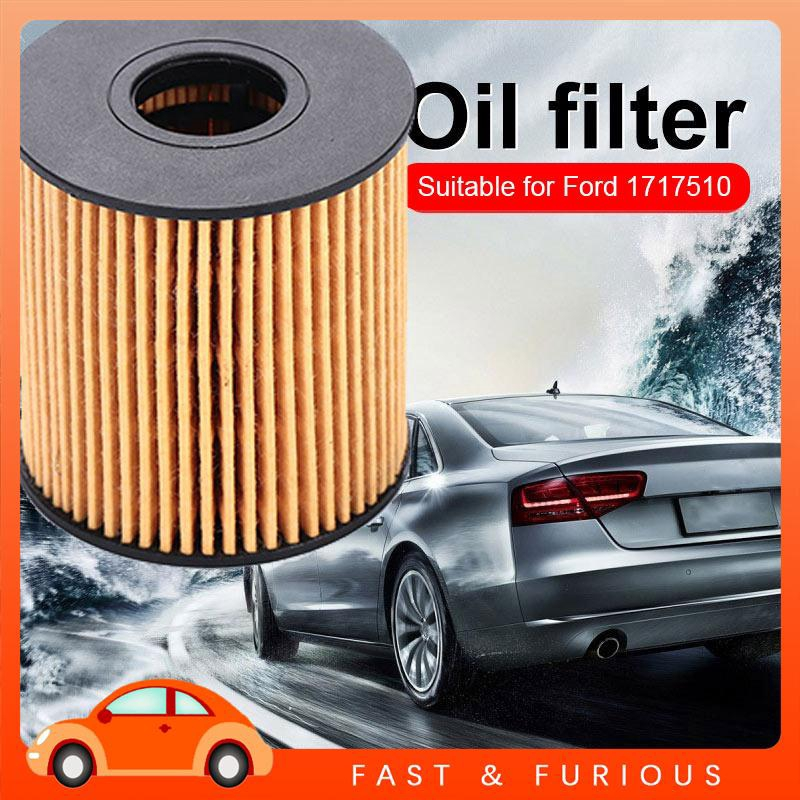 UU Ford V348 Car Oil Filter Auto Oil Filter Fits Multiple Models 6C1Q-6744-BA Anti-Pollen  Dust Lubricating Replacement