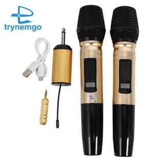 Bộ Micro Không Dây Uhf Cho Dj Karaoke