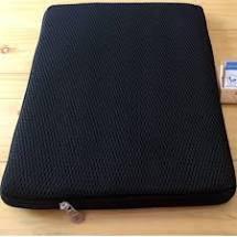 Túi chống sốc laptop LOẠI DÀY, SIÊU ÊM từ 12 inch đến 17 inch- Màu đen