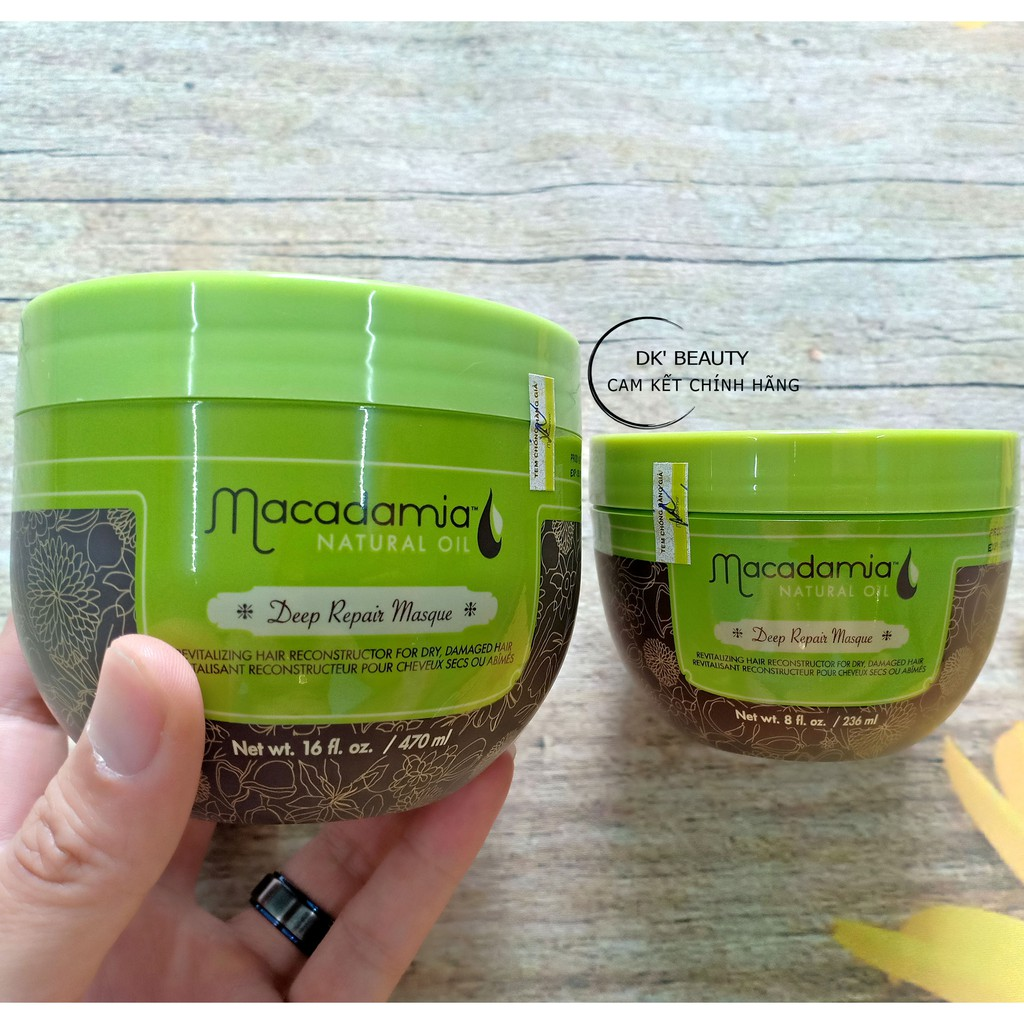 [Chính Hãng] Dầu Hấp Macadamia Chuyên Sâu Phục Hồi Deep Repair Masque