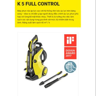 K5 Full Control – Máy phun xịt áp lực cao Karcher