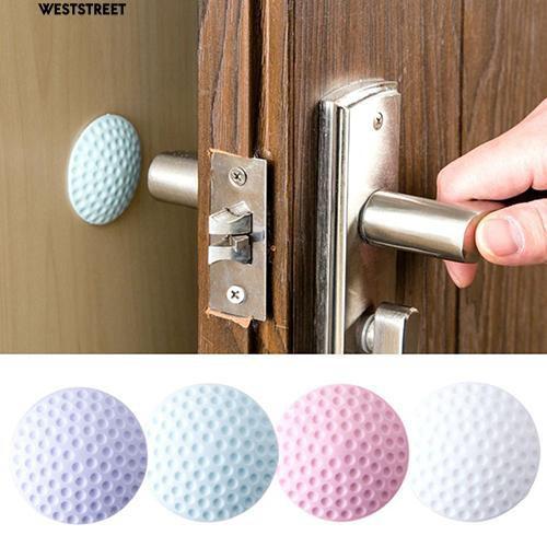 ] 🔝 Miếng cao su dán tường sau cửa phòng chống va đập