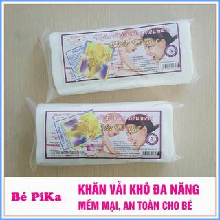 [Mã MKBCSOC hoàn 10% xu đơn 350K] Combo 6 gói khăn vải khô đa năng Baby Hiền Trang (~230g/gói)