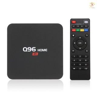 Bộ Tv Box Q96 Android 8.1 Rk3229 Lõi Tứ Uhd 4k Media Player 1gb / 8gb 2.4g Wifi H.265 Vp9 Hdr10