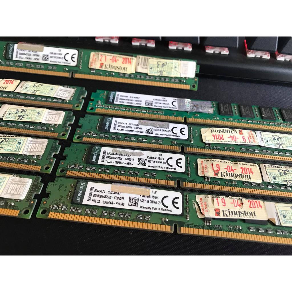 RAM Kingston 4Gb DDR3 Bus 1600Mhz bo lùn chính hãng - 2388262 , 1344013597 , 322_1344013597 , 499000 , RAM-Kingston-4Gb-DDR3-Bus-1600Mhz-bo-lun-chinh-hang-322_1344013597 , shopee.vn , RAM Kingston 4Gb DDR3 Bus 1600Mhz bo lùn chính hãng