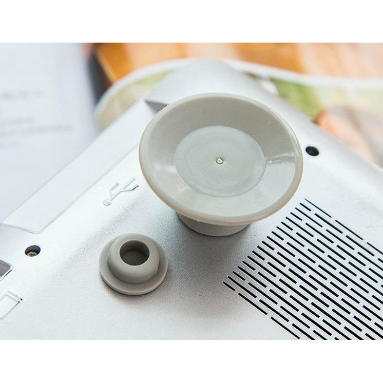 Phụ kiện máy tính FREESHIP Combo 4 nút cách nhiệt máy tính, tạo độ nghiêng cho laptop và chống trượt 4858
