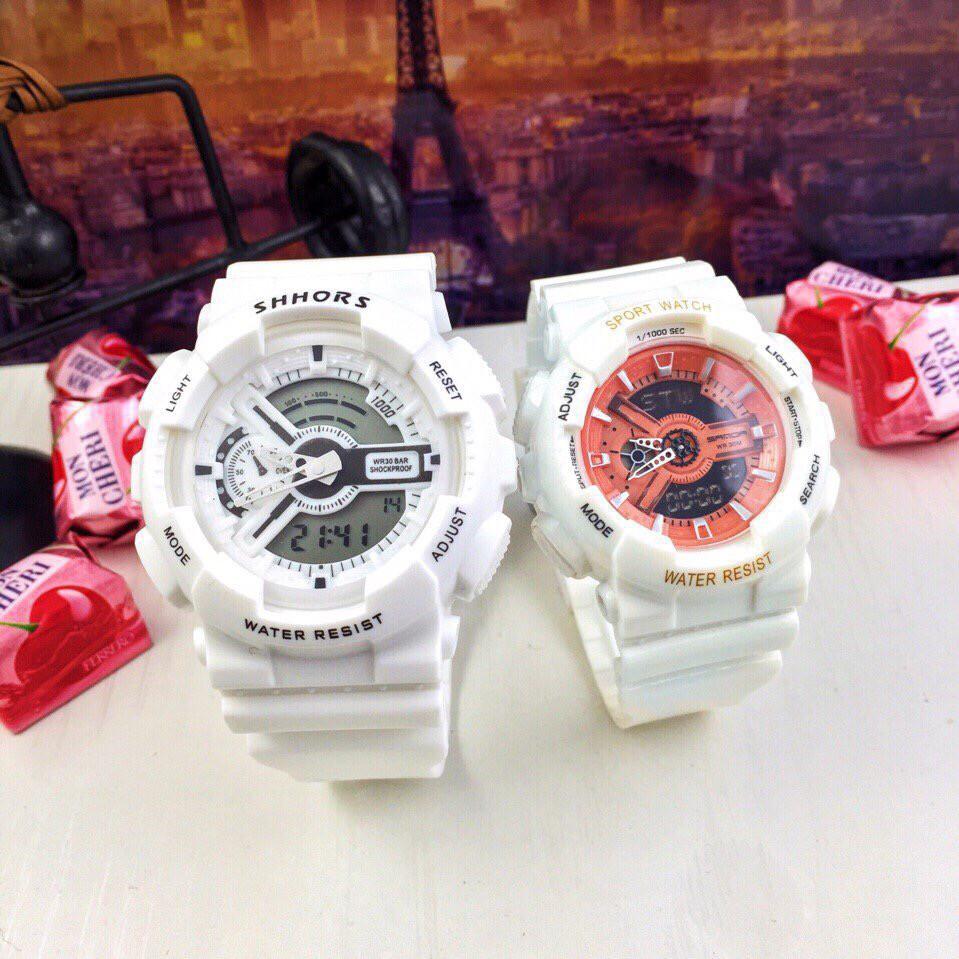 Đồng hồ thể thao nam nữ Shhors & Sport watch hàng chính hãng