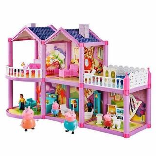 Mô hình nhà gia đình heo Peppa Pig 958 – Loại lớn