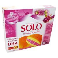 Bánh Solo Bông Lan Kem hộp 252g