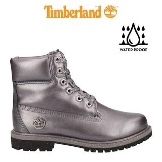 Giày Boot Cổ Cao Timberland 6-inch Premium Metallic Xám TB0A24HYFQ thumbnail