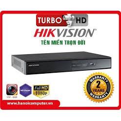 DS-7204HGHI-F1 Đầu ghi hình 4/8/16 kênh Turbo HD 3.0 DVR  ( vỏ sắt )