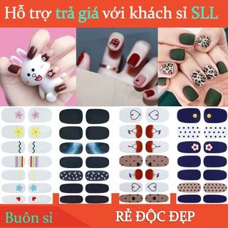 Miếng dán móng tay nail nhiều hình dễ thương N02 thumbnail