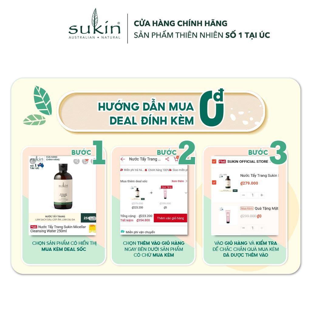 Tinh Dầu Tầm Xuân Sukin Rosehip Certified Organic Rosehip Oil 25ml