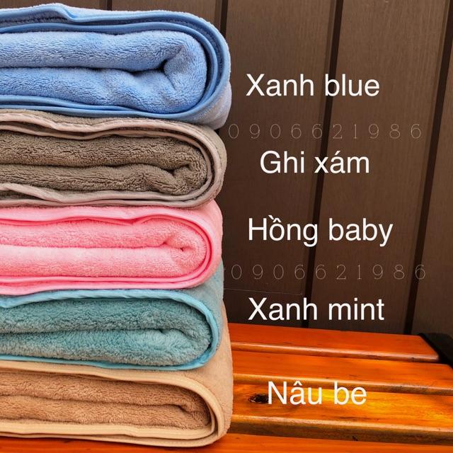 Khăn tắm lông cừu 70x140cm siêu mềm
