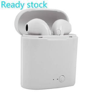 Tai nghe bluetooth không dây i7s Tws kiểu dáng thể thao mini với hộp sạc cho Xiaomi