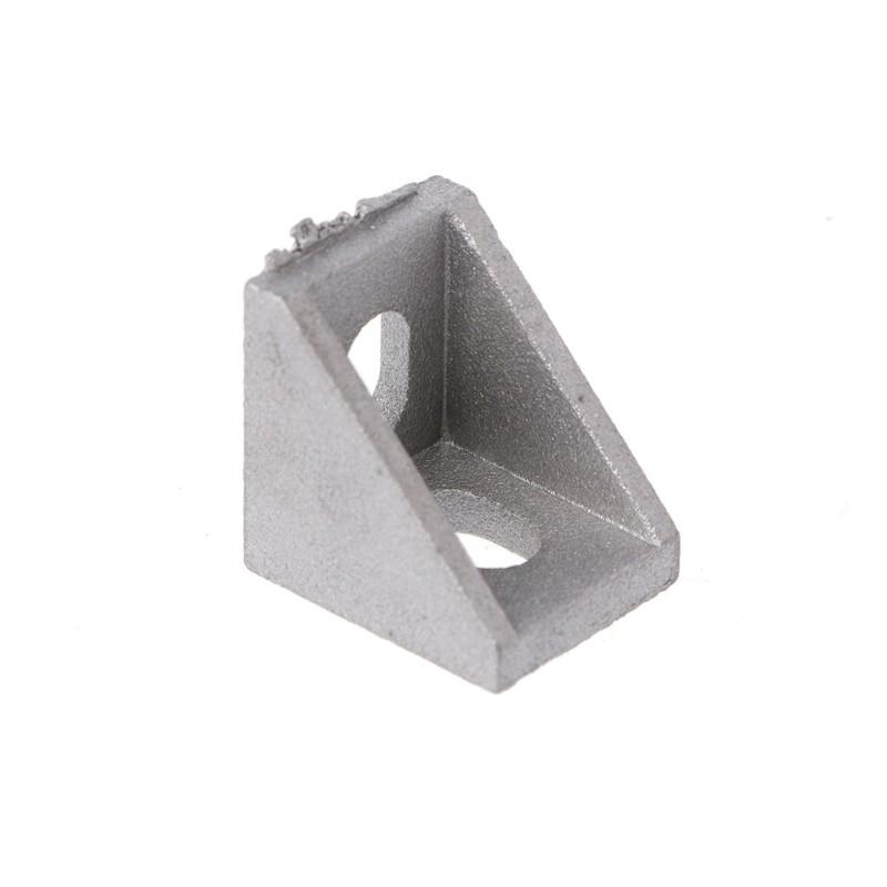 Bộ 4 đai ốc kích thước 20x20x17mm bằng nhôm cho máy