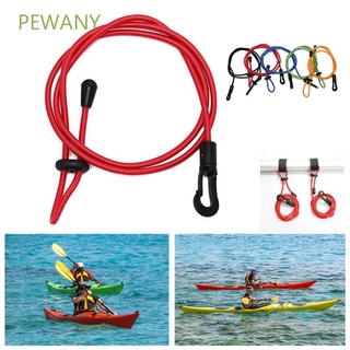 PEWANY Portable Paddle Leash Elastic Surfing Leash Lanyard Rowing Boats Rope with Hook Surfboard Canoe Paddle Fishing Rod Leashes/Multicolor