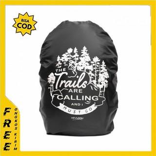 Vỏ bọc bảo vệ chống mưa RAINCOAT JAS màu đenKPACK BAG COVER BACK BAG C8 thumbnail