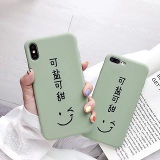 Ốp Điện Thoại Mềm In Chữ Vui Nhộn Cho Iphone Xs Max Xr Ix 8 Plus I 7 I 6s