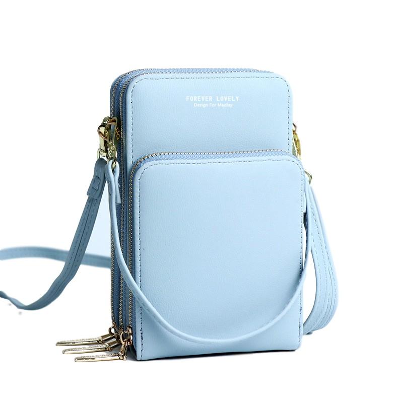 Túi đeo chéo nữ nhiều ngăn đi chơi mini MADLEY da mềm cá tính giá rẻ TX427