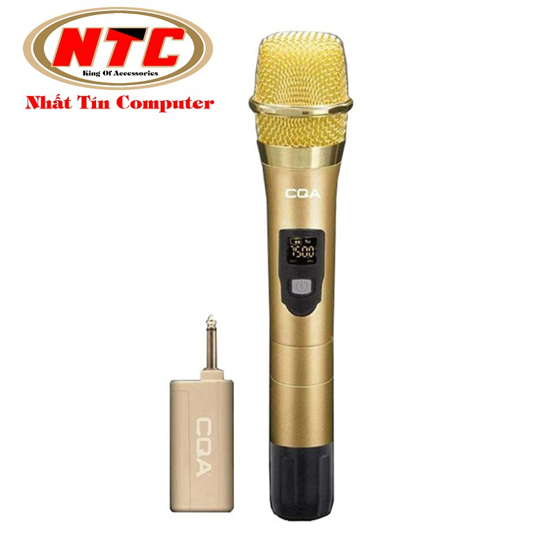 Micro Karaoke không dây đa năng CQA Q-005 - Hỗ trợ các thiết bị có jack cắm 3.5mm và 6.5mm (nhiều mà - 2527729 , 958516824 , 322_958516824 , 579000 , Micro-Karaoke-khong-day-da-nang-CQA-Q-005-Ho-tro-cac-thiet-bi-co-jack-cam-3.5mm-va-6.5mm-nhieu-ma-322_958516824 , shopee.vn , Micro Karaoke không dây đa năng CQA Q-005 - Hỗ trợ các thiết bị có jack cắm 3