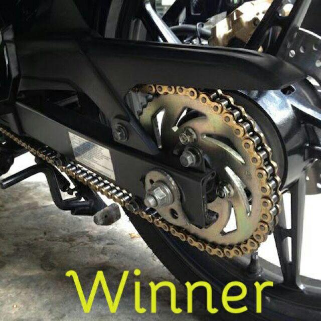 Nhông xích đĩa DID Thailand xe Winner, Nhông sên đĩa vàng DID xe Winer